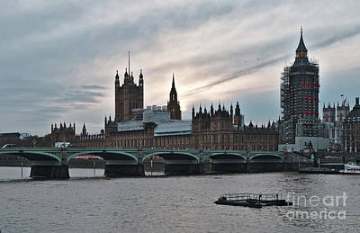 Photograph - Westminster At Dusk by Angelo DeVal