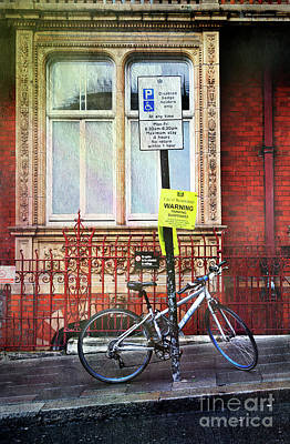Photograph - Westminster Bicycle by Craig J Satterlee