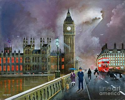 Painting - Westminster Bridge by Ken Wood