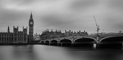 Mp Photograph - Westminster Bridge London by Martin Newman