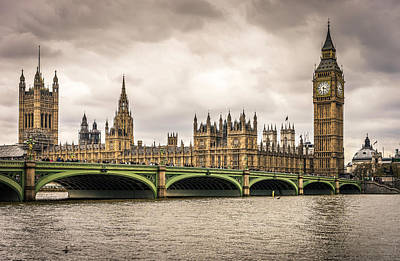 Photograph - Westminster Bridge London by Nicky Jameson