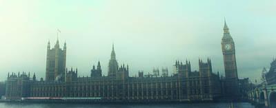 Westminster Fog Art Print