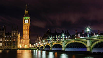 Photograph - Westminster by Kelvin Trundle