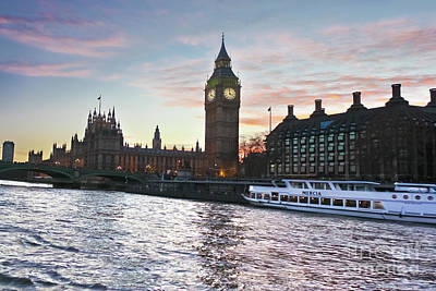 Photograph - Westminster London by Terri Waters