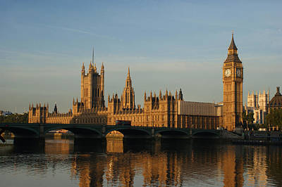 Photograph - Westminster Morning by Andy Beattie Photography