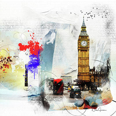 Digital Art - Westminster by Nicky Jameson