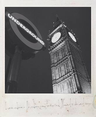 Photograph - Westminster Underground by Mark Taylor