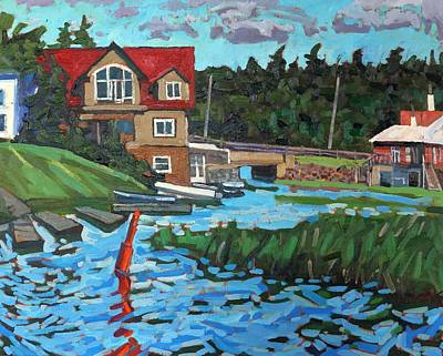 Grist Mill Painting - Westport Grist Mill by Phil Chadwick