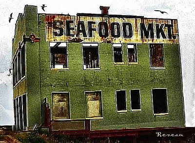Photograph - Westport Washington Seafood Market by Sadie Reneau