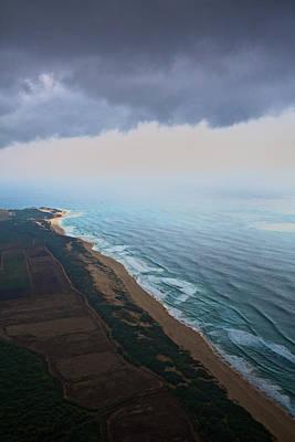 Photograph - Westshore Kauai Aerial by Steven Lapkin