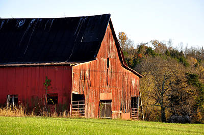 Country Scene Photograph - Westside by Jan Amiss Photography
