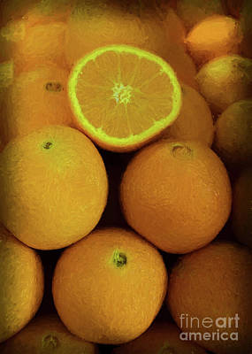 Photograph - Westside Market Oranges by Janice Rae Pariza