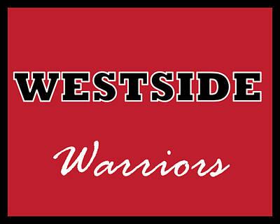 Digital Art - Westside Warriors by Brian Moore