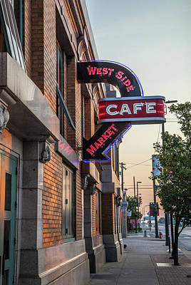 Photograph - Westsidemarketcafe by Lon Dittrick