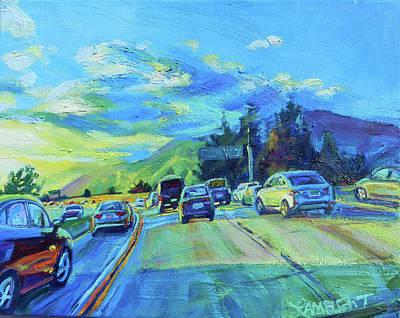Painting - Westward by Bonnie Lambert