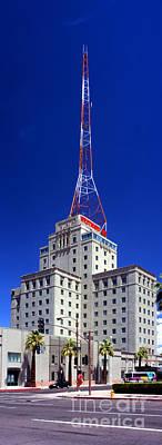 Photograph - Westward Ho Building, Phoenix, Radio Transmitter Antenna by Wernher Krutein