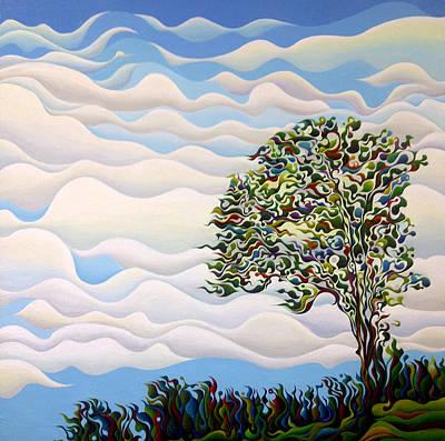 Westward Yearning Tree Art Print