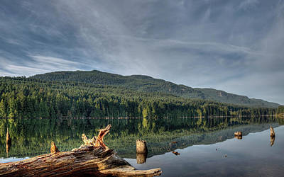 Print featuring the photograph Westwood Lake by Randy Hall