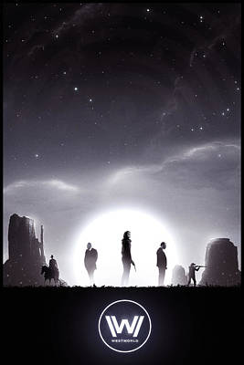 Dolores Digital Art - Westworld by Colin Morella