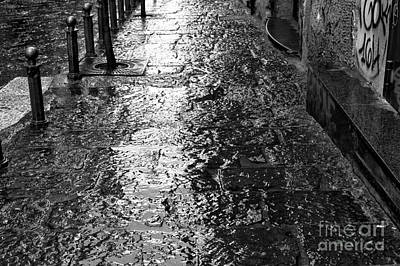 Photograph - Wet In Naples by John Rizzuto