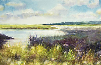 Painting - Wet Lands by Judith Levins
