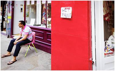 Photograph - Wet Paint by Stewart Marsden