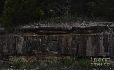 Photograph - Wet Rock Wall Face by Mark McReynolds