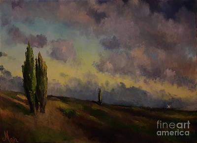 Painting - Wet Sky by Maja Sokolowska