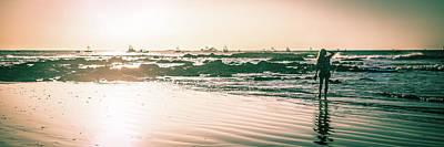 Photograph - Wet Sunset Walk by T Brian Jones