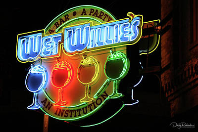 Photograph - Wet Willie's by Debby Richards