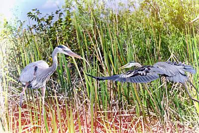 Wetland Buddies Print by Judy Kay