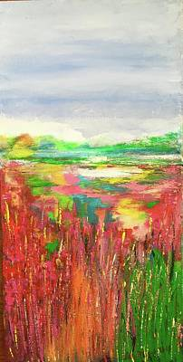 Painting - Wetland by Lilliana Didovic