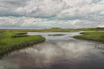 Photograph - Wetland Waterways Photographic Art by John M Bailey
