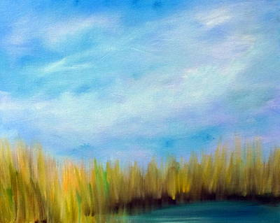 Painting - Wetlands Morning by Katy Hawk