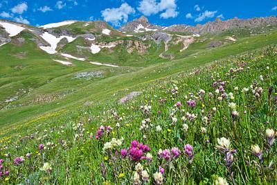 Photograph - Wetterhorn Peak by Cascade Colors
