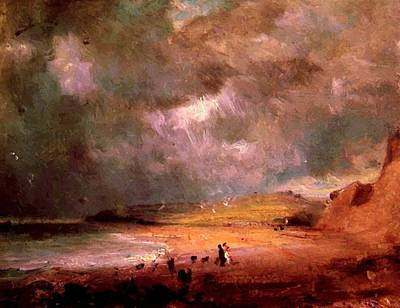 Painting - Weymouth Bay by Constable John