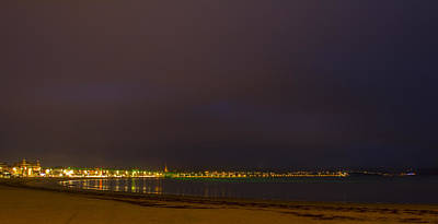 Photograph - Weymouth Bay Night by David French