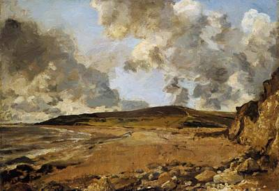 Painting - Weymouth Bay With Jordan Hill 1816 by Constable John