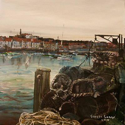 Weymouth Harbor, Uk Art Print by George Lucas