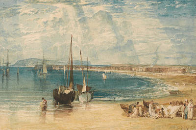 Painting - Weymouth by Joseph Mallord William Turner