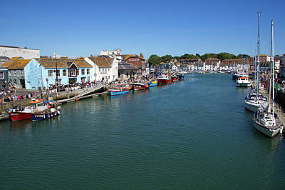Photograph - Weymouth Old Harbour by Chris Day