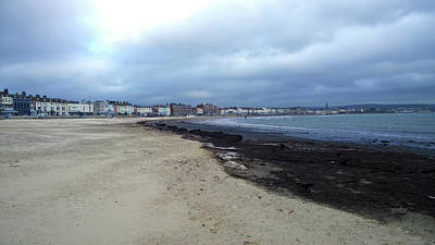 Photograph - Weymouth Sands by Anne Kotan