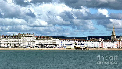 Photograph - Weymouth Seafront by Stephen Melia