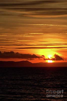 Art Print featuring the photograph Weymouth Sunrise by Baggieoldboy