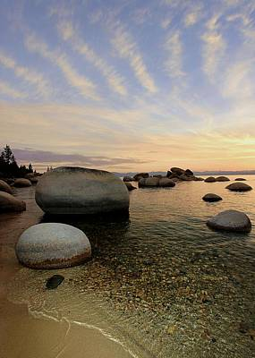 Photograph - Whale Beach Sundown Shores by Sean Sarsfield