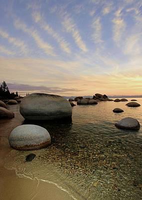 Photograph - Whale Beach Sundown Shores by Sean Sarsfield