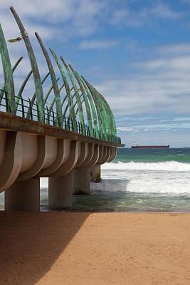 Wall Art - Photograph - Whale Bone Pier by Pippa Dini