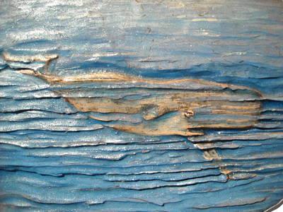 Whale Print by Doris Lindsey