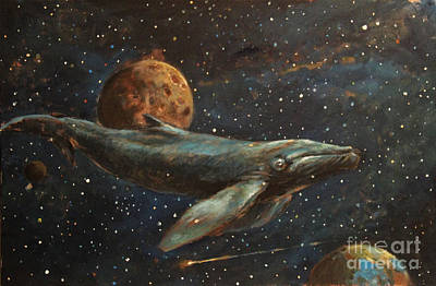 Whale Of The Universe Original by Michal Kwarciak