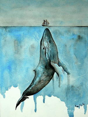 Painting - Whale Ship by Tamyra Crossley